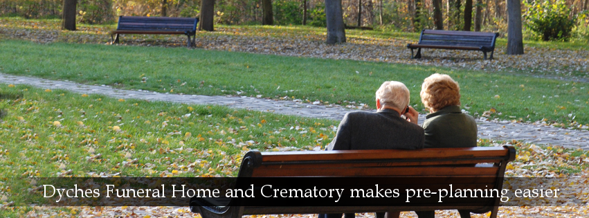 Pre-planning funeral services